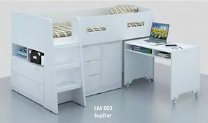 Jupiter king single loft bed SYDNEY DELIVERY & ASSEMBLY AVAILABLE Windsor Hawkesbury Area Preview