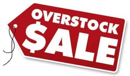 OVERSTOCK SALE! POCKET SPRINGS MED PLUSH PILLOW TOP MATTRESS NEW!