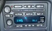 05 Silverado Radio