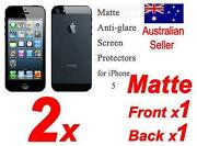 iPhone 5 Screen Protector Matte Back