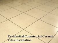 Residential Commercial Ceramic Tiles Installation