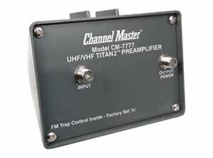 CHANNEL MASTER ANTENNA BOOSTER AMPLIFIER, PRE AMPLIFIER IN LINE AMPLIFIER, DVR, ROTOR, ANTENNA CABLES & ACCESSORIES
