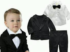 Baby boy suit size 6-12 months.