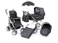 Babystyle prestige 3 in 1 S3D travel system pushchair