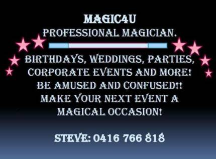 Close -up Magician for Corporate events /Birthday parties