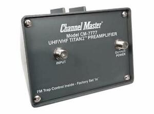 CHANNEL MASTER ANTENNA BOOSTER AMPLIFIER, PRE AMPLIFIER IN LINE AMPLIFIER, DVR, ROTOR, ANTENNA ACCESSORIES