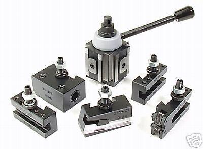 Tool Post Set5 Holders Piston Bxa 10 To 15 Lathe Swing