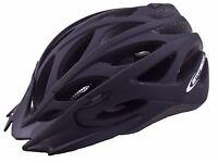 Ammaco MTB Road Bike Helmet Matt Black 58-62cm - QUICK SALE