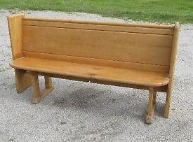 Pine Pew / Bench