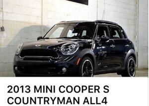 2013 MINI Cooper S Countryman * Automatique, Bas kilométrage