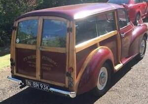 Very Rare 1955 Morris Minor Woodie Bowral Bowral Area Preview