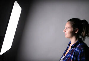 Super Light and Soft LED Thin Panel Soft Box - comes in 4 sizes!