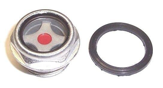 St191700av Campbell Hausfeld Oil Level Sight Glass Gauge W/ Gasket Vt47 & Vt48