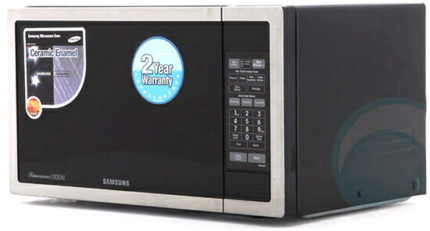 Samsung 1000W Microwave ME6104ST Great Condition