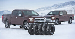 FINANCE FORD F350 WINTER TIRES AND STEEL RIM PACKAGES!!!! Kawartha Lakes Peterborough Area image 3