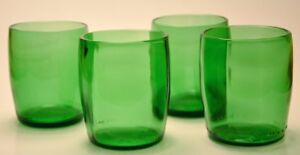 Perrier Water Glasses Stemless Wine Pint Glass