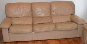 Full Leather Lounge Suite Shortland Newcastle Area Preview