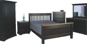 Mennonites Made Solid Wood Queen King Size Beds - FREE SHIPPING to GTA Area