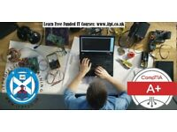 Free (fully funded by SAAS) CompTIA A+ and Security + Course. Part-time course in Glasgow