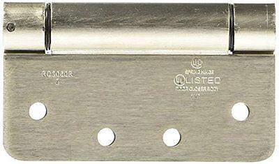 National Mfg Spectrum Brands Hhi N350 868 Spring Door Hinge 4 Inch  Satin Nickel