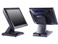 """EPOS / POS / TILL 15"""" COMPLETE WITH SOFTWARE NEW!!!"""