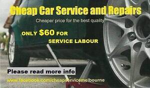 Minor Car Service $60 - Mobile mechanic/7 day a week Essendon Moonee Valley Preview