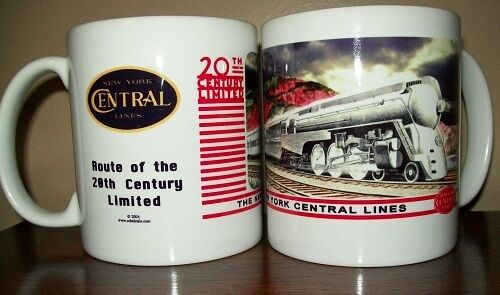 RAILROAD COFFEE MUG //  New York Central // Collectible Coffee Cup // Kitchen