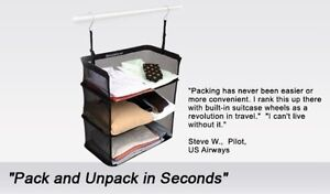 Shelves-To-Go STG-20 20 by 12-Inch Packable Suitcase Shelves, Bl Kingston Kingston Area image 1