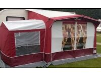 Caravan Awning DOREMA MAXIMA XL LARGE Porch Awning With Annexe Excellent Condition