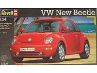 Revell VW New Beetle Plastic Model Kit - new
