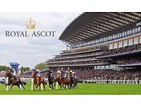 ROYAL ASCOT TICKETS - FRIDAY 23RD & SATURDAY 24TH JUNE - WINDSOR ENCLOSURE SILVER RING - SOLD OUT