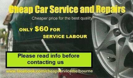 Minor Car Service & Repairs $60 - Mobile mechanic/7 day a week