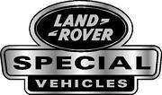 Land Rover Special Vehicles