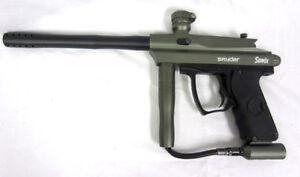 Spyder Sonix [Green] for sale (missing hopper screw)