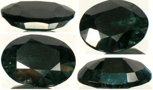 19thC Antique 3 2/3ct Russian Sapphire Medieval Ram Engraved Amulet Black Magic