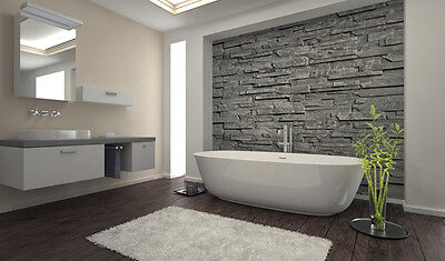 The feature wall finishes the room in some style.