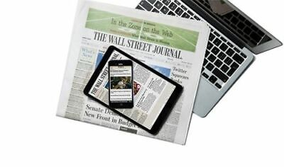 Wall Street Journal Subscription Print - (Newspaper) 1 Year WSJ Print  & Digital