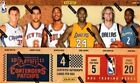 Playoff Basketball Trading Cards Contenders 2010-11 Season