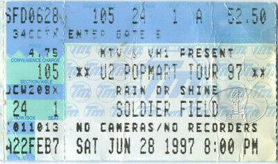 U2 1997 Popmart Tour Concert Ticket Stub Soldier Field for sale  Dallas