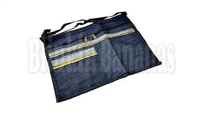 4 Pocket Market Nylon Trader Money Belt Bag Apron Pouch Adjustable Waist Strap