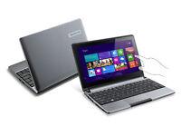 """Touchscreen Packard Bell 10.1"""" Netbook Laptop"""