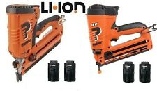 PASLODE Cordless Li-Ion Framer & Angled Finish Nailer Kit 4 Batteries