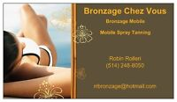 Spray Tanning - West Island (Mobile Service)