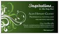 *PROFESSIONAL PAINTING AND DECORATING SERVICES*