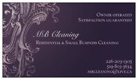MB Cleaning - The RIGHT choice the FIRST time!