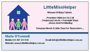 Child Care for single dads Cremorne North Sydney Area Preview