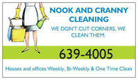 Cleaning  Openings Now Available!