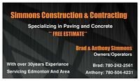 Simmons Construction... call today!!