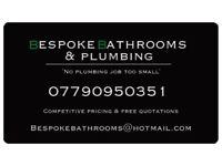 Bespoke Bathrooms & Plumbing