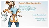 Susan's Cleaning Service-Reliable & Local Service